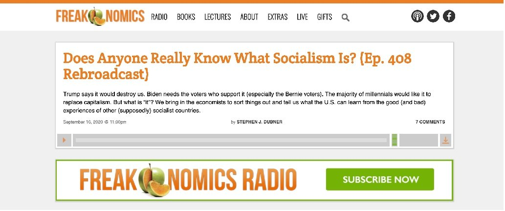 Freakonomics Podcast