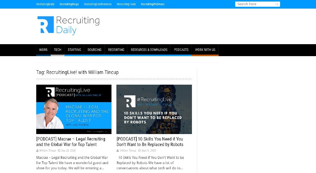 Recruiting Daily Podcast