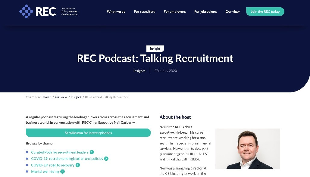 Talking Recruitment Podcast
