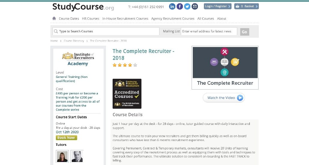 The Complete Recruitment Course