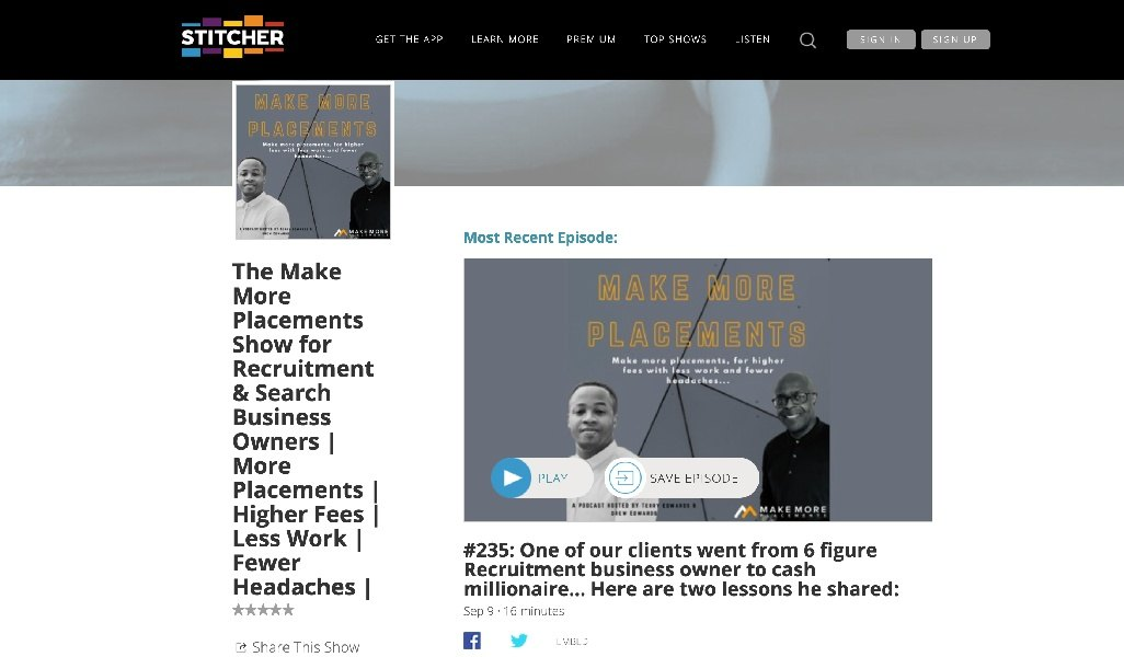 The Make More Placements Podcast