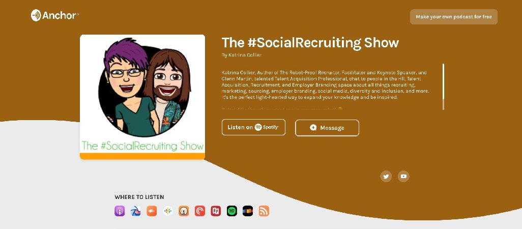 The Social Recruiting Podcast